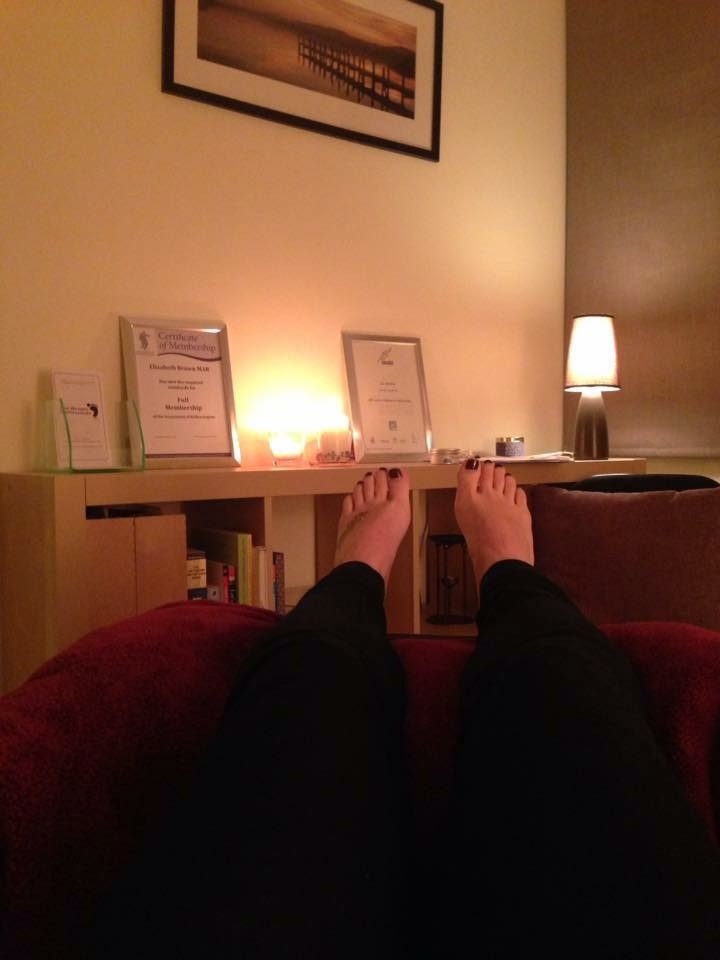 reflexology room